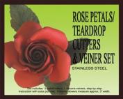 Rose petal/teardrop Cutters Set