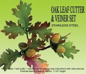 Oak Leaf Gumpaste Cutter & Veiner Set