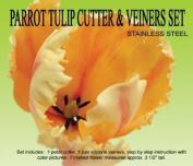 Parrot Tulip Cutter & Veiner Set