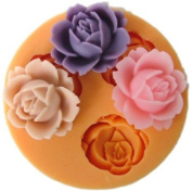 1.8cm flower F0101 Fondant Mould Silicone Sugar mini mould Craft Moulds DIY Cake Decorating