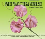 Sweet Pea Cutter & Veiner Set