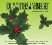 Holly Gumpaste Cutter Set