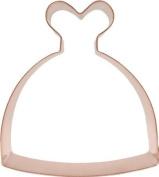 Wedding Dress Copper Cookie Cutter