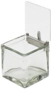 Cal-Mil 1807 Solid Metal Hinge Jar Lid