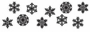 JEM Cutters Stencil - Snowflakes