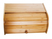 Lipper International Bamboo Rolltop Bread Box