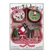 Meri Meri Merry & Bright Cupcake Kit