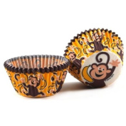 Cupcake Creations Monkey Business Baking Cup, Set of 32