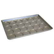 Chicago Metallic Bakeware ePan Aluminium Hamburger Bun Pan for 24 Buns