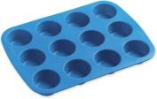 Easy-Flex Silicone Mini Muffin Pan-12 Cavity