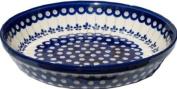 Polmedia Polish Pottery Pie dish 25.4cm #GU879-166A Zaklady Ceramiczne H0856A