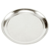 Norpro Heavy Gauge Stainless Steel 39cm Professional Pizza Pan Serving Tray