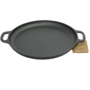 Old Mountain 10171 Pre Seasoned Pizza Pan, 34.3cm
