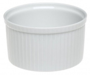 Pillivuyt 260314BL Pleated Deep Souffle Dish Large - 17cm 6 C.