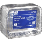 Bakers & Chefs Aluminium Steam Table Pans - 30ct
