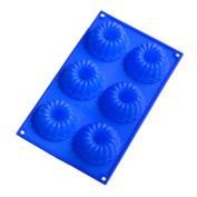 Yuzhou 6 Cup Angle Silicone Baking Mould Cake Moulds