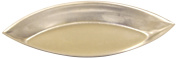 Allied Metal BAR4060 Plain Barquette Oval Boat Baking Mould, Heavy Tin, 4-1/3 by 4.4cm by 1.3cm