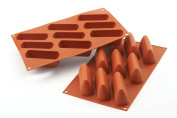 Silikomart SF126/C Silicone Classic Collection Mould Shapes, Triangles