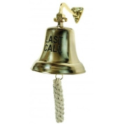 Large Brass LAST CALL Bartenders Bell