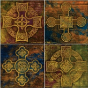 Celtic Crosses Absorbent Coasters