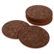 Thirstystone Dark Cork Coasters - Set of 6