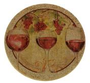 Set of Four Wine Harvest II Drink Coasters - Style tstg4