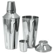 Adcraft BAR-3PC 3 Piece, 830ml Capacity, Mirror Finish, Stainless Steel Bar Shaker Set