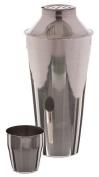 Update International BSH-3P Stainless Steel 3-Piece Bar Shaker, 830ml