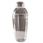 Fineline Settings 4101-CL Shakers 210ml Clear Cocktail Shaker