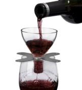 Metrokane Rabbit Swish On Glass Red Wine filter Aerator - 0906150