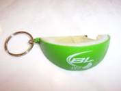 Bud Light Lime Wedge Bottle Opener Keychain
