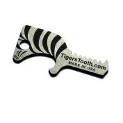 Tiger's Tooth Key Ring Bottle Opener - Made in USA