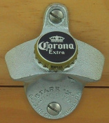 Corona Extra Beer Bottle Cap Starr X Wall Mount Opener