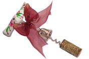 CuteTools 12706 Wine Opener, Pink Geranium