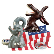 . Set of GOP and FDR Bottle Openers