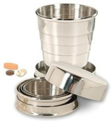 Stainless Steel Collapsible Pocket Cup
