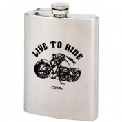240ml Stainless Steel Flask with Screw-Down Cap