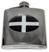 Cornwall Flag Celtic 180ml Flask SALE