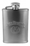 Jack Daniel's Licenced Barware Flask, Bug Logo, 90ml