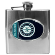 Seattle Mariners MLB 180ml Stainless Steel Flask