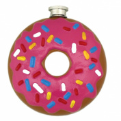 Island Dogs Donut Flask, Multicoloured