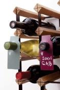 Chalkboard Wine Bottle Tags - Set of 40