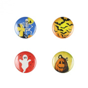 Il Bere Wine and Drink Charms Holiday Collection, Halloween Trick or Treat