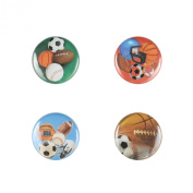 Il Bere Wine and Drink Charms Sports Collection, Mixed Sport Balls
