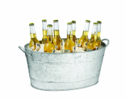Tablecraft Remington Collection Galvanised Steel Beverage Tub, 24.1cm by 36.8cm by 58.4cm