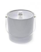 Mr. Ice Bucket 701-1 Regency White Ice Bucket, 2.8l
