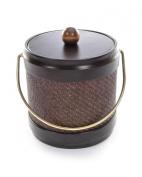 Mr. Ice Bucket 466-1 Wicker Truffle Ice Bucket, 2.8l