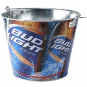 Bud Light Full Colour Metal Beer Bucket