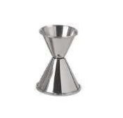 Update International (JI-6) - 1 & 60ml Stainless Steel Jigger