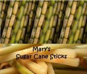 Raw Sugar Cane Swizzle Sticks - Pack of 20